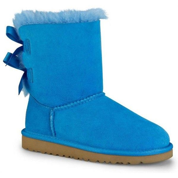 99f72d1a7e7 Ugg Boots for Kids Bailey Bow Blue Sky from Landau Store ($120 ...