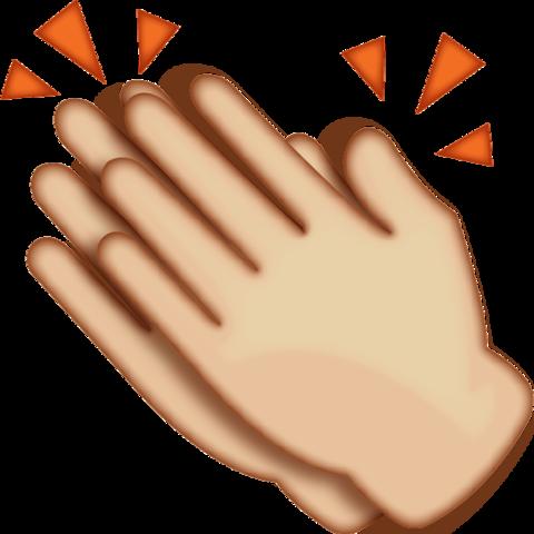 Clapping Hands Emoji Clapping Hands Emoji Hand Emoji Emoji