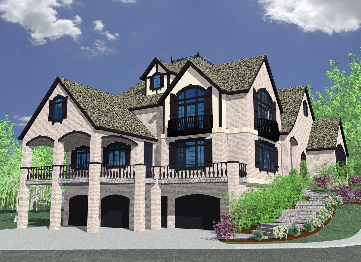 M 5999 House Plan Old World European Homes