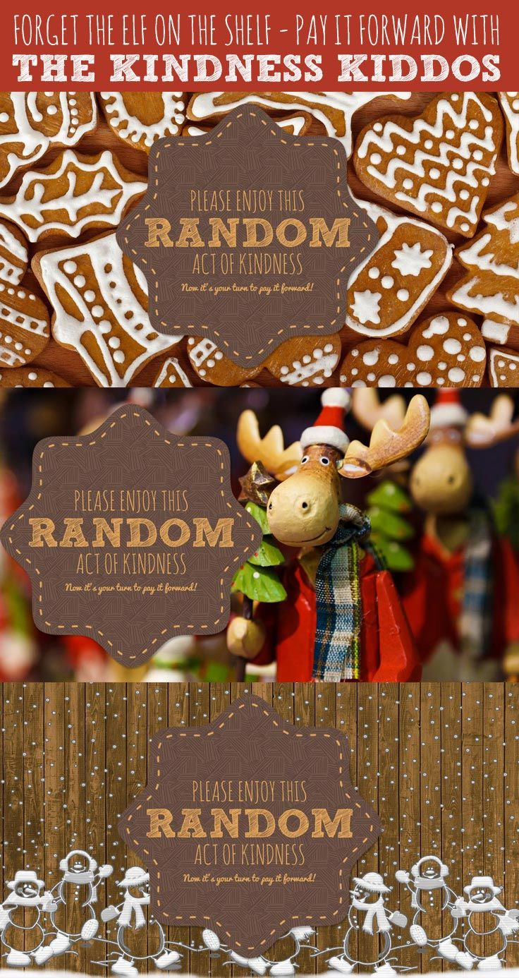 Elf on the shelf alternative kindness kiddos