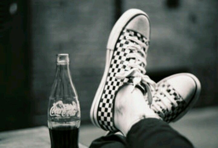 Coca Cola black & white