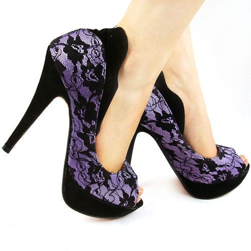 purple lace. these make me droooooool – …CRaZy SHooES…