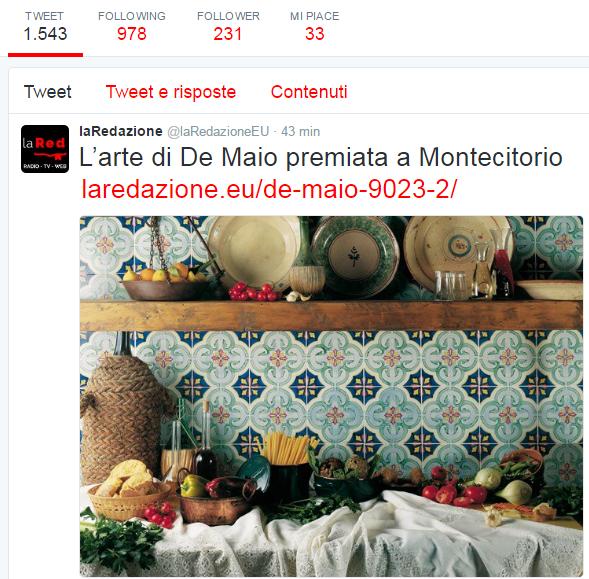 Ceramica Francesco De Maio   #100eccellenze   rassegna stampa   #ceramicafrancescodemaio #madeinItaly