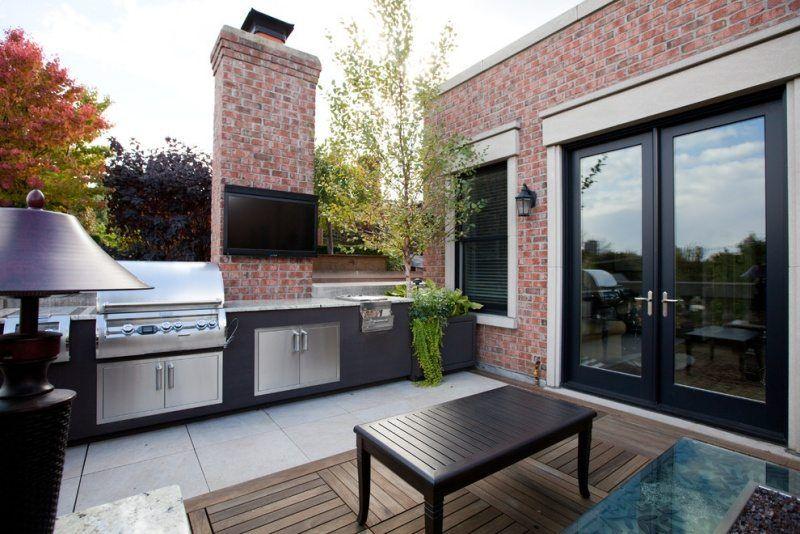 Ideen · Moderne Outdoor Küche ...