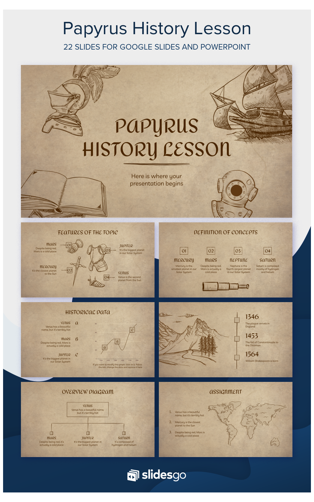 Papyrus History Lesson Presentation Free Google Slides Theme And Powerpoint Template History Powerpoint Templates Historypowerpointtemplates Amaze Your St ในป 2021