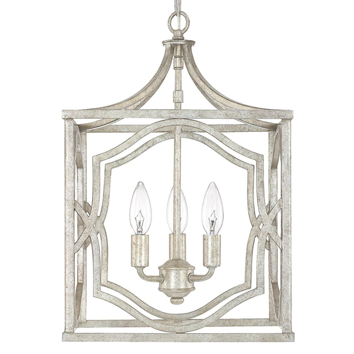Modern Fretwork Frame Lantern Small Lantern Pendant
