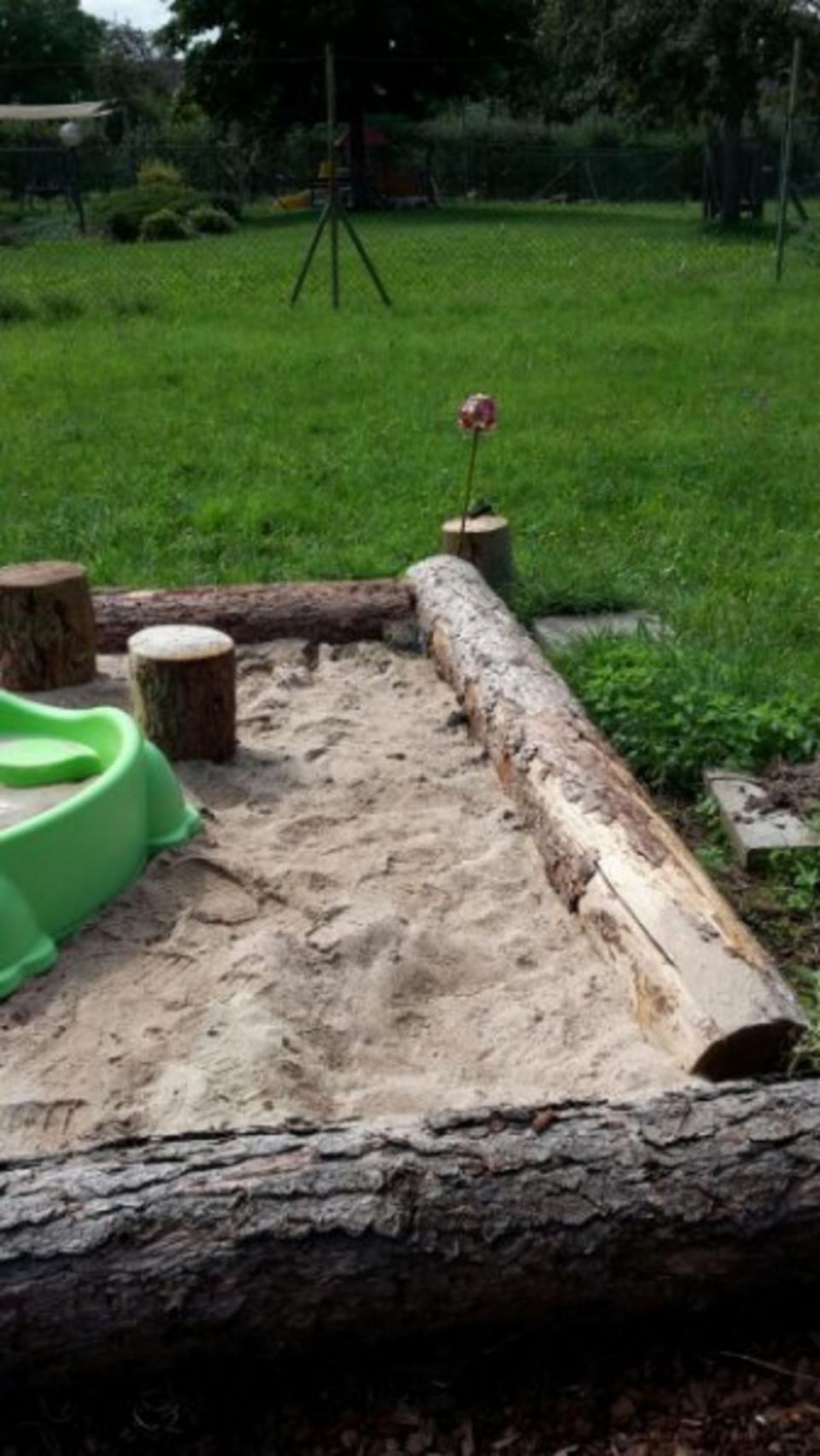 xxl sandkasten » sonstiges kinderspielzeug aus neulingen | garten