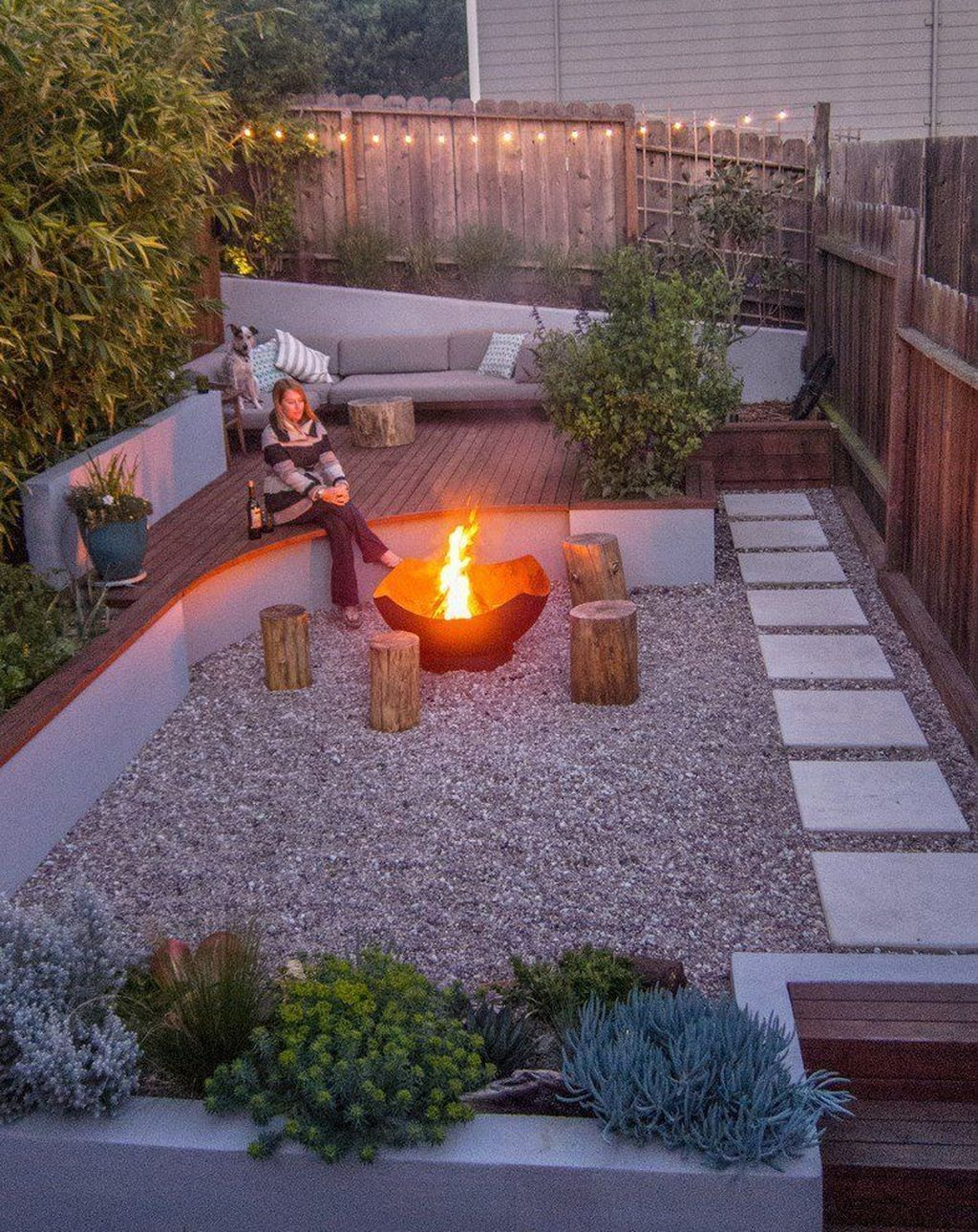 Check Out This Backyard Landscaping Idea And Get More Great Tips Modern Landscaping Small Backyard Landscaping Garden Landscape Design