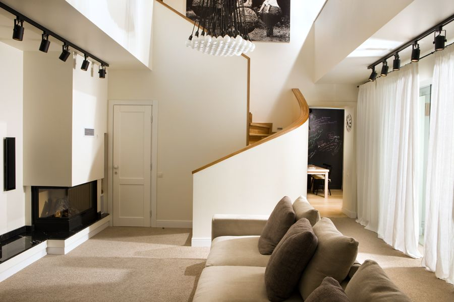 Architecture interior design small house also in ukraine displaying  fascinating blend of materials rh pinterest