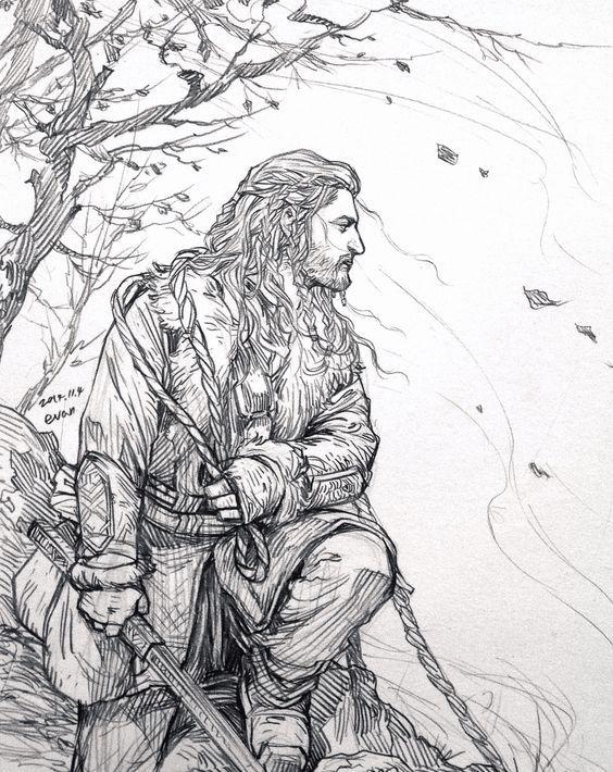 Thorin Oakensheild | Coloring | Pinterest | El señor, Señor y Anillos