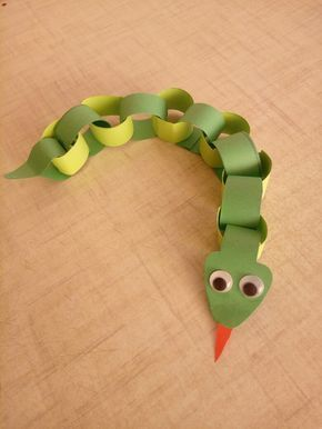 Photo of Adorable Giraffe Finger Puppet Craft –  Paper chain snake paper series paper ani…