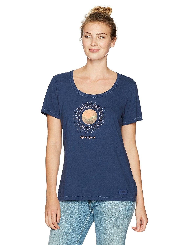 f102e18c8edc70 Women's Crusher Scoop Sunray Circles Dstblu T-Shirt- - Darkest Blue -  CH12O6N4D08,Women's Clothing, Active, Active Shirts & Tees #women #clothing  #fashion ...