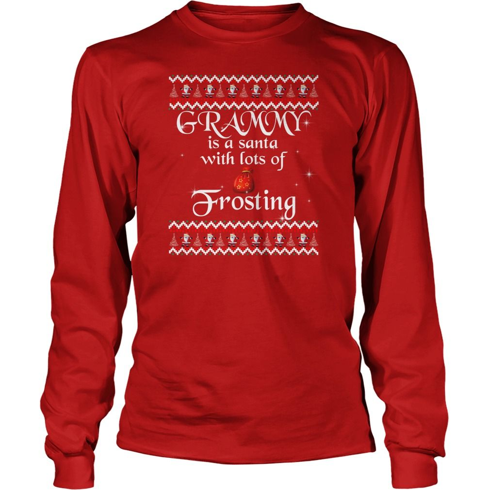 Grammy Is A Santa With Lots Of Frosting T-Shirt
