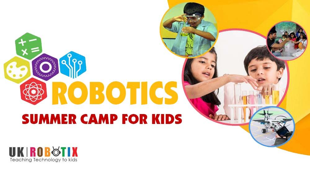 Robotics Summer Camp For Kids In Surrey Bc Robotics Camps For Kids Summer Camps For Kids Camping With Kids Teaching Technology