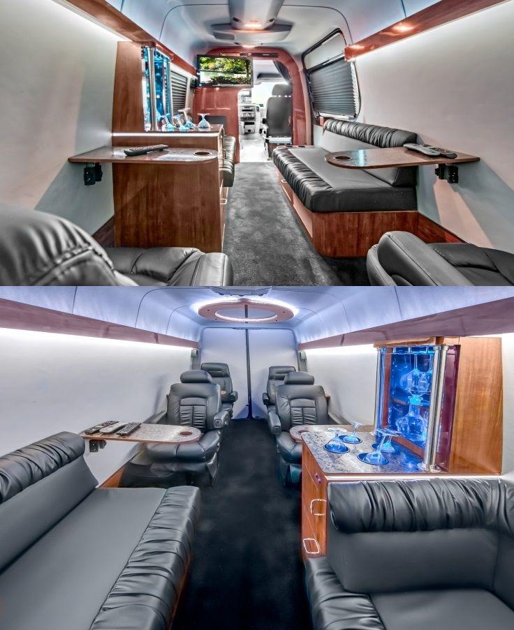 2018 Freightliner Sprinter 2500 Cargo Interior: Sprinter Van Interiors