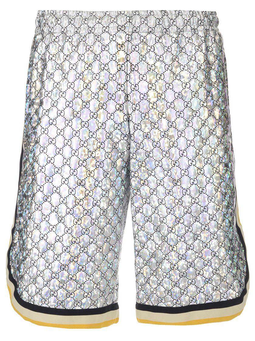 6c4453dd GUCCI GUCCI GG LAMINATED BASKETBALL SHORTS. #gucci #cloth | Gucci ...