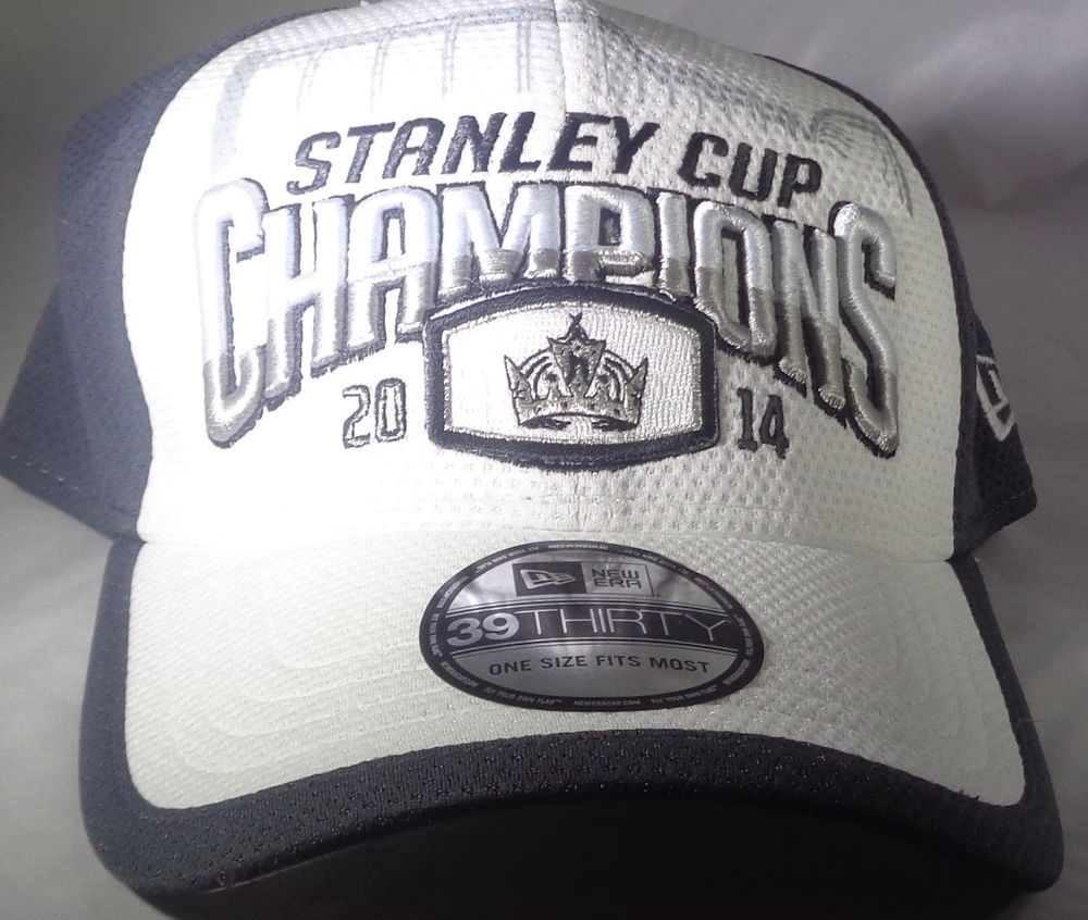 fe1be1f17 Los Angeles Kings New Era 39THIRTY 2014 NHL Stanley Cup Champions Fitted  Cap Hat #NewEra #LosAngelesKings