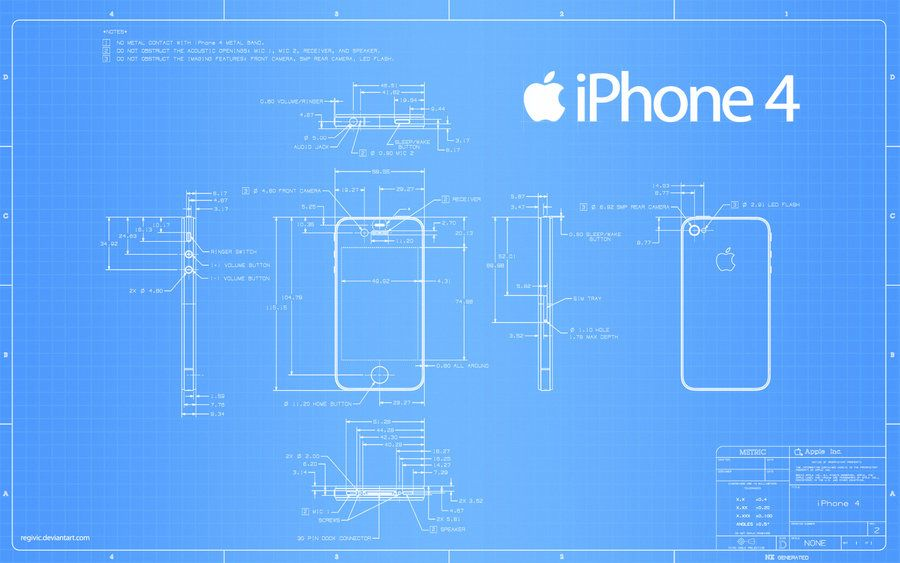 Iphone 4 blueprint 2560x1600 by regivic blueprint pinterest iphone 4 blueprint wallpaper based on documents from apple see also iphone 4 blueprint pixels link iphone 4 blueprin malvernweather Gallery
