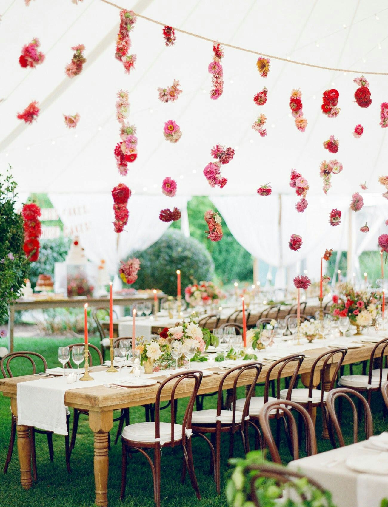 Love The Pink Accents In This Wedding