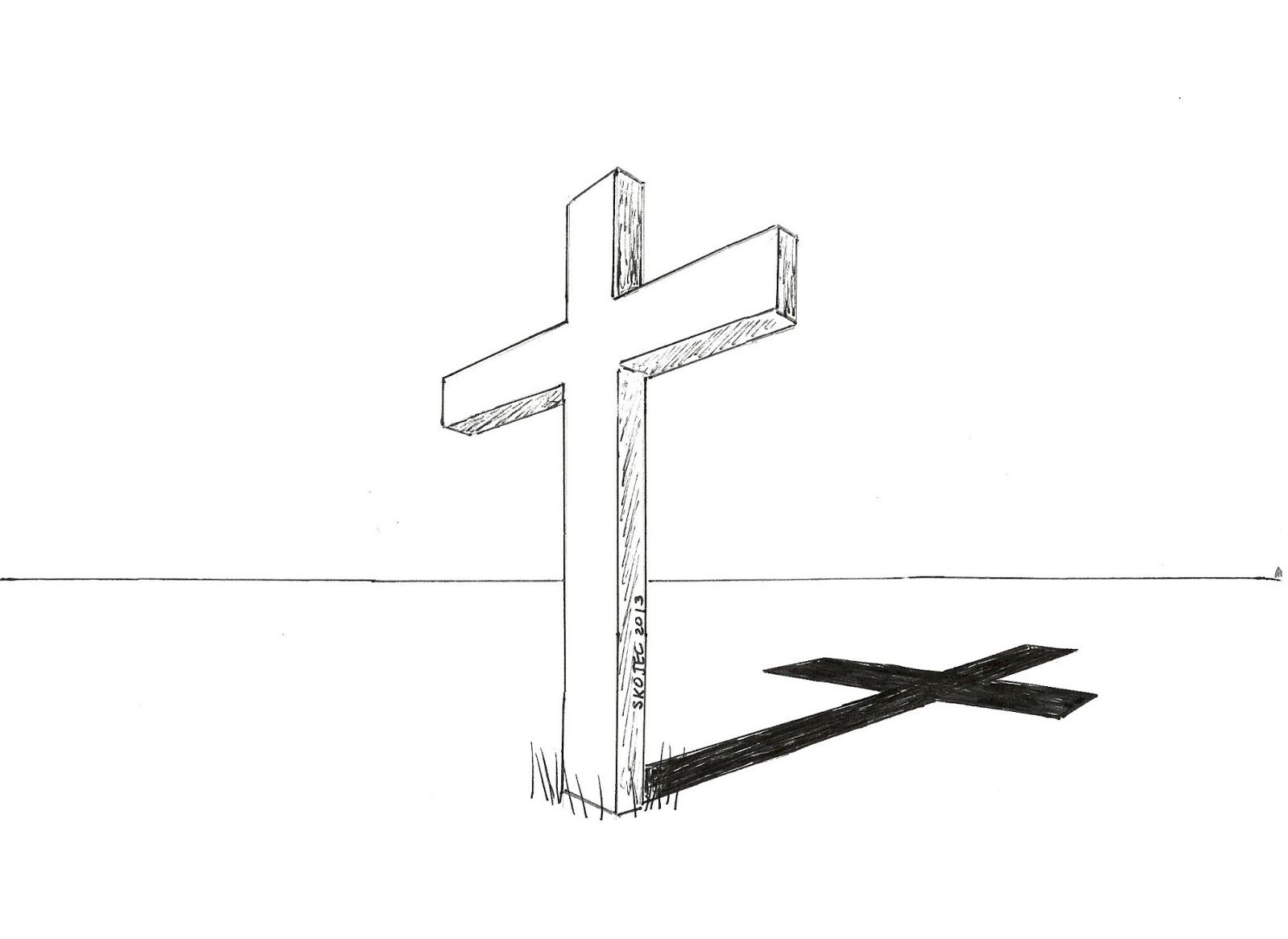 Perspective Crosses | Art Class Ideas