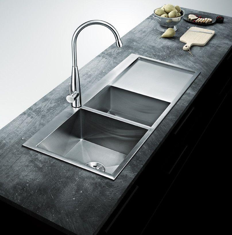 Bai 1235 Stainless Steel 16 Gauge Kitchen Sink Handmade 48 Inch