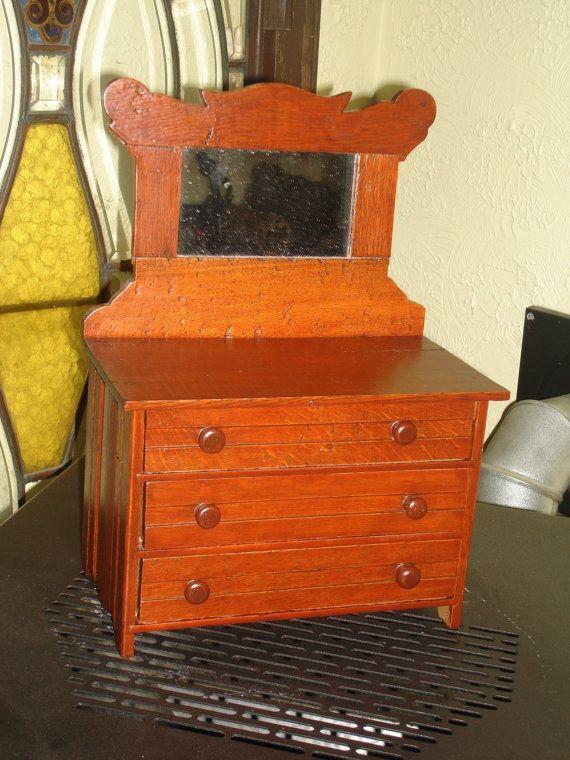 Best Now 60 00 Was 120 00 Antique Salesman Sample Wooden 400 x 300