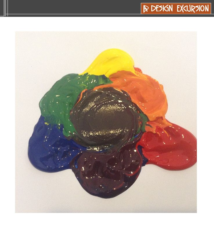 If You Mix 2 Primary Paint Colours Red Blue And Yellow Together Make A Secondary Colour Orange Purple Or Green When The 3 Are