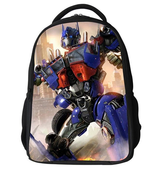 3D Print Transformers Optimus Prime Boys//Girls Backpack School Bag Chridren Bag