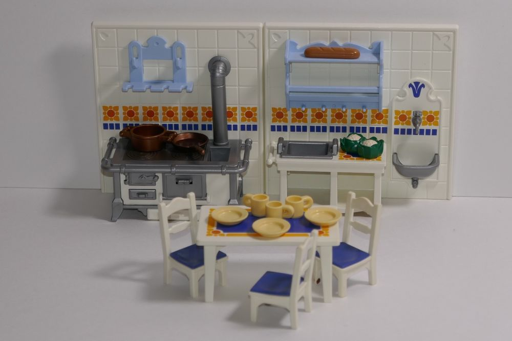 Details About Playmobil Dollhouse Kitchen Set 5317 Replacement