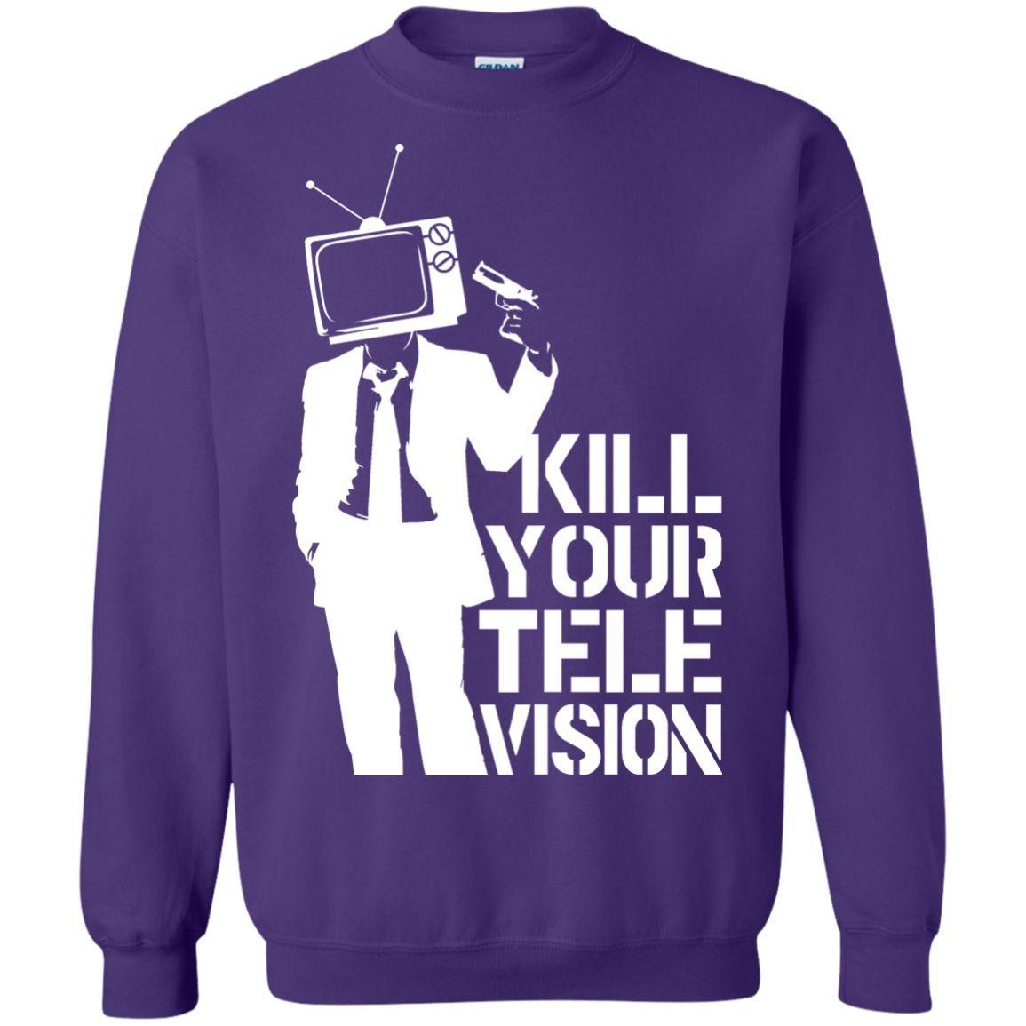 Banksy's Kill Your Television Sweatshirt