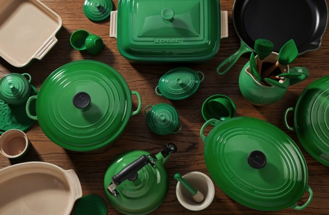 Le Creuset Collection In Fennel The Perfect Way To Incorporate Coloroftheyear Into Your Kitchen