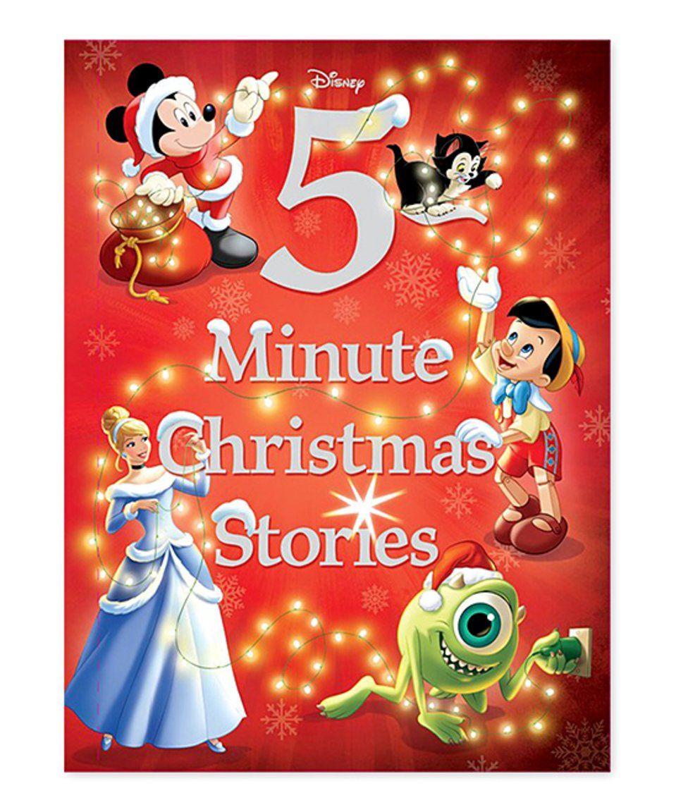 Look at this #zulilyfind! Disney Five Minute Christmas Stories Hardcover by Disney #zulilyfinds