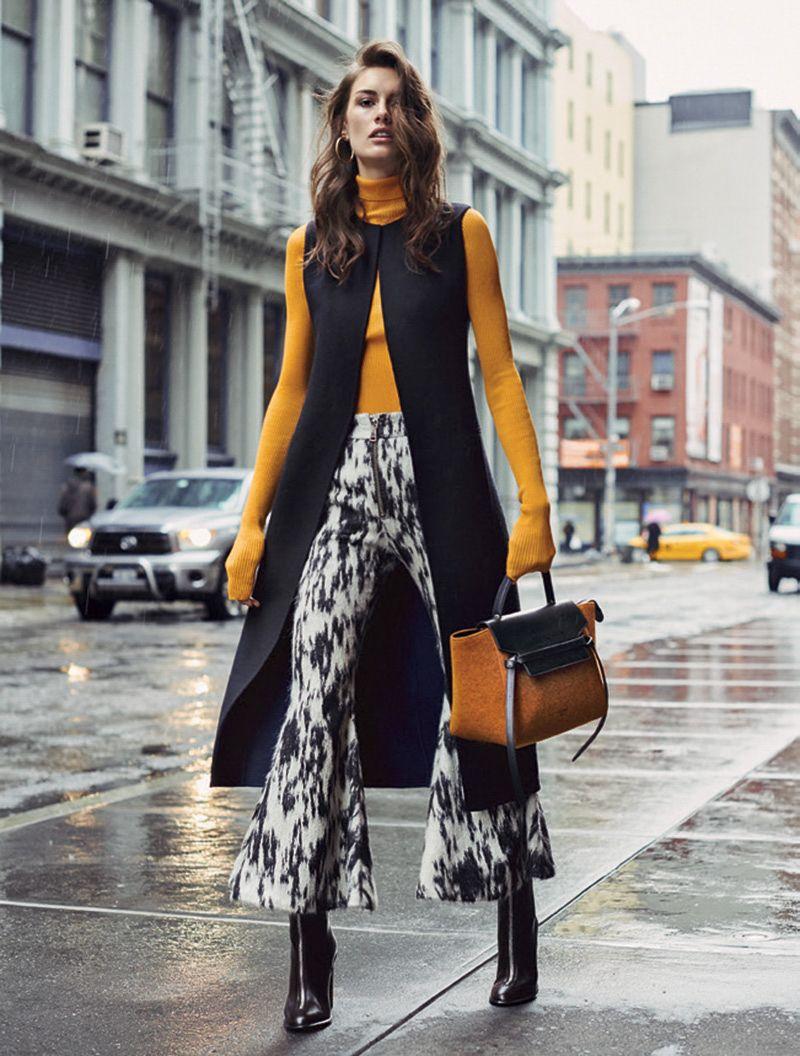 Fashion October 2016: L'Officiel Switzerland October 2016 Ronja Furrer By