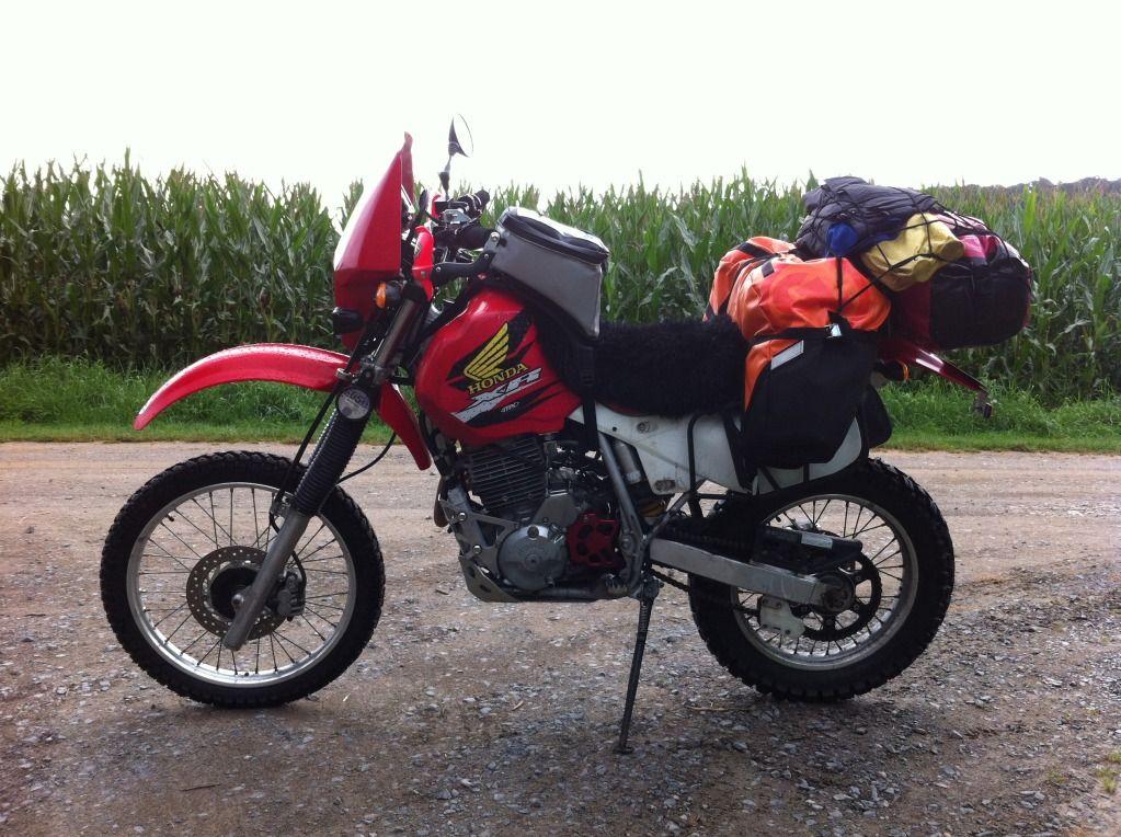 Xr650l Touring Google Search Xr600r Adventure Tourer