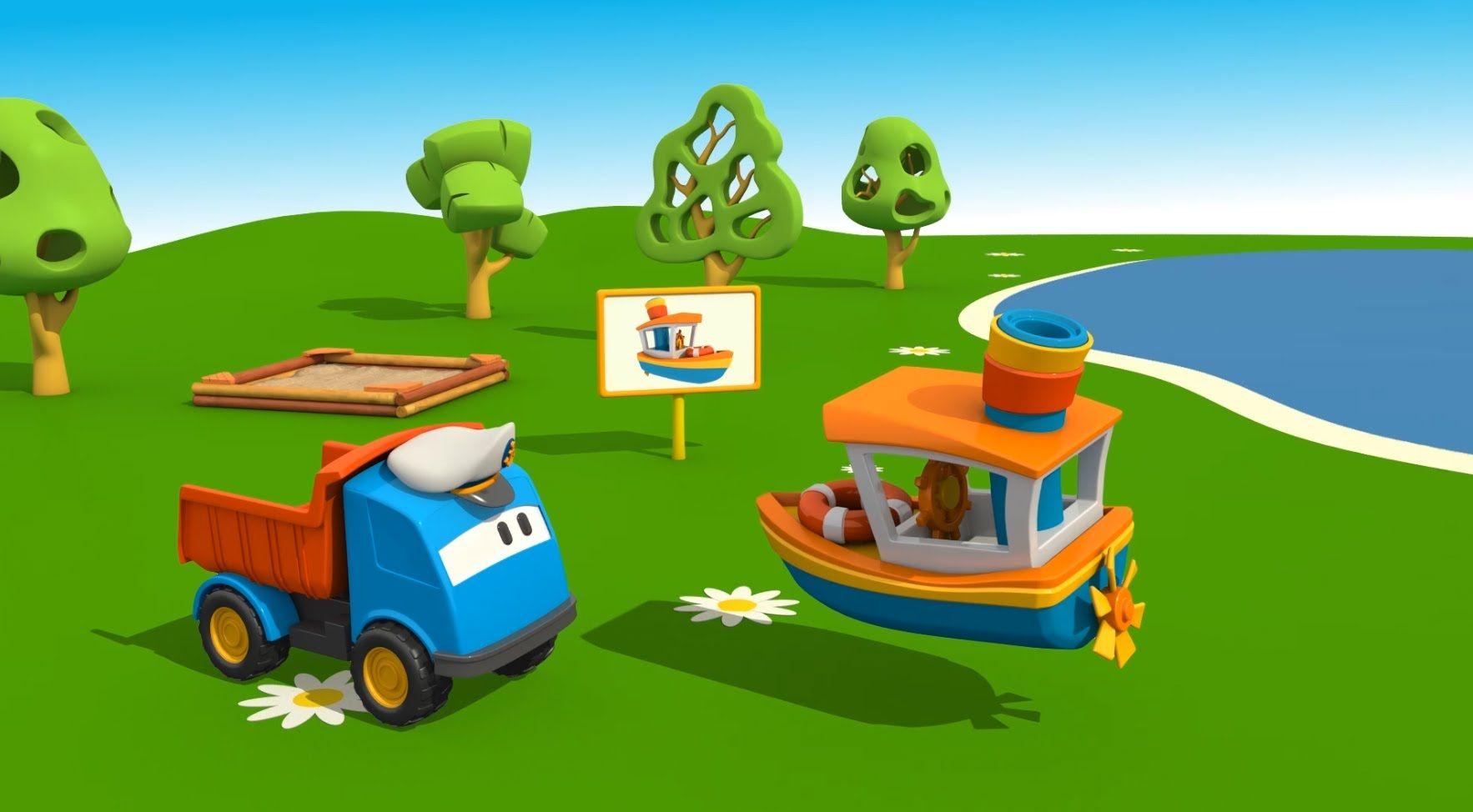 Pin Su Leo Il Camion Curioso Cartoni Animati Per Bambini