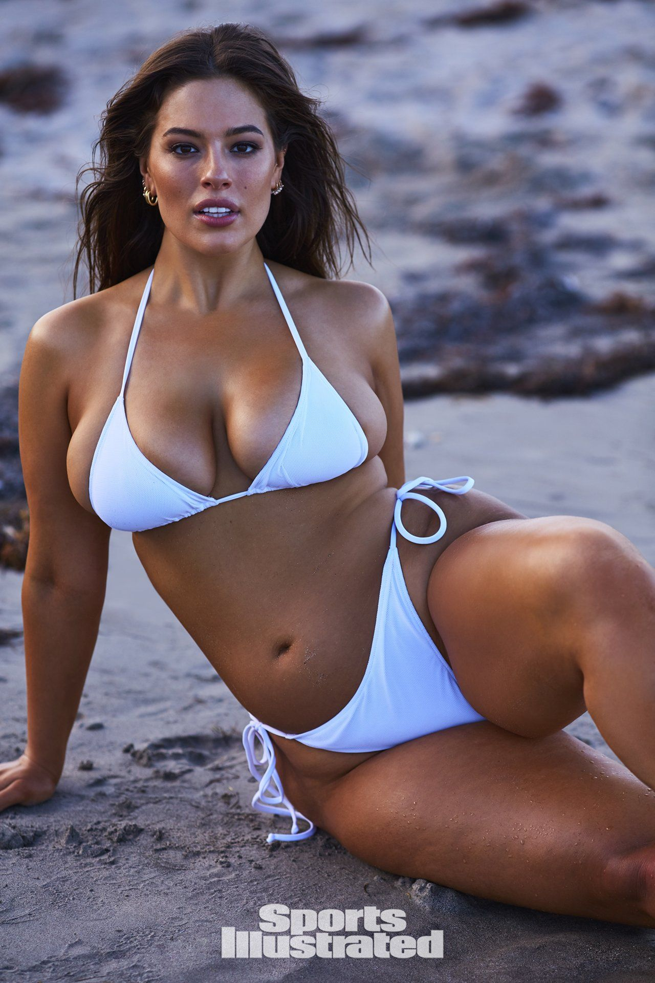 Ashley Graham Bikini Nude Photos 59