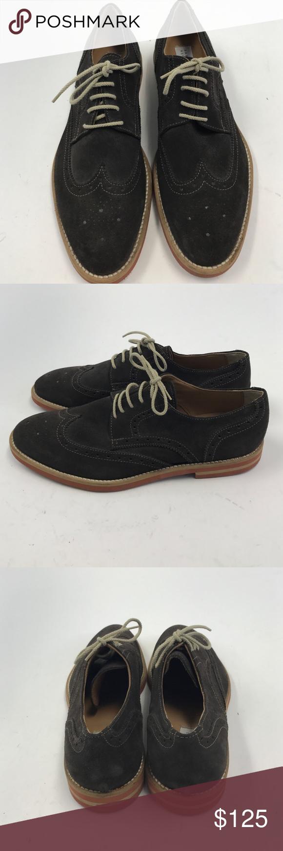 Barney's NewYork Brown Suede Oxford Sz 9M Brand spankin new Barneys New York Shoes Oxfords & Derbys