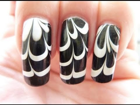 My Water Marble Nail Art Entry To Rainbowsrprettyfuls Contest