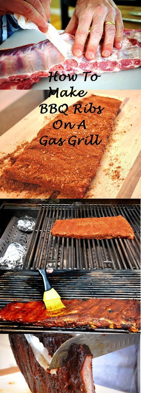 How to Make BBQ Ribs on a Gas Grill #bbq