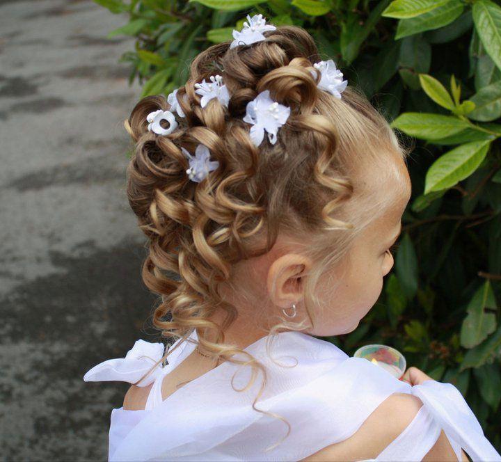 Coiffure enfant mariage recherche google coiffure pinterest coiffure coiffure communion - Coupe de mariage pour petite fille ...