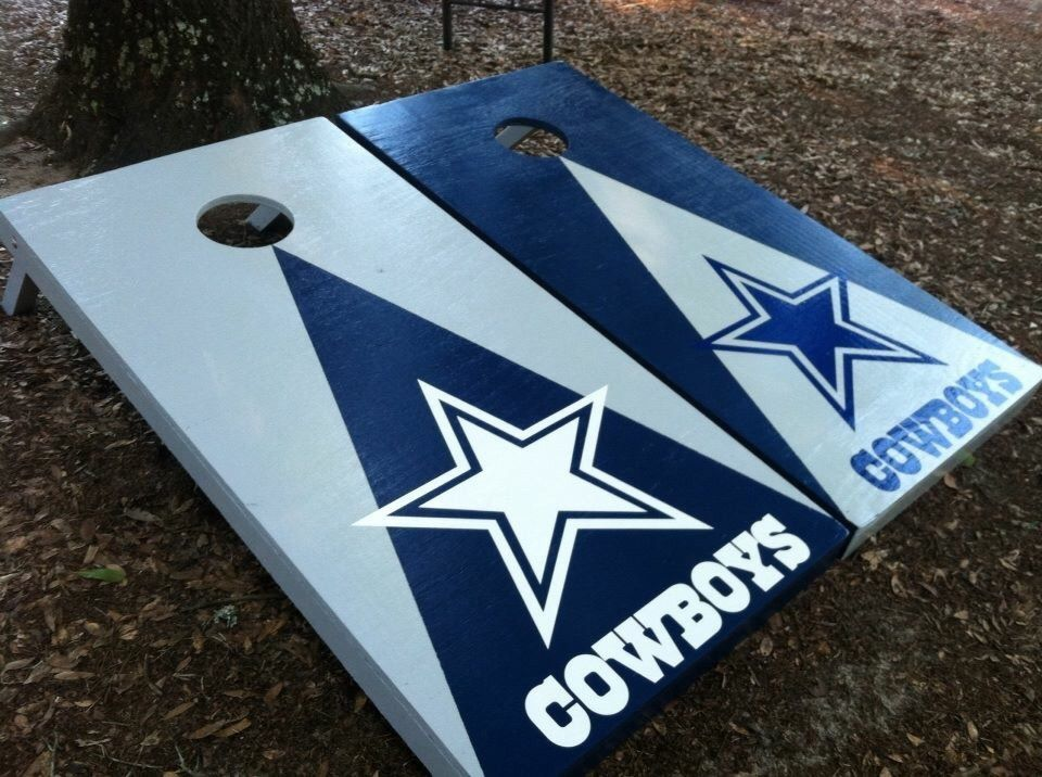 Dallas Cowboys Set With Bean Bags