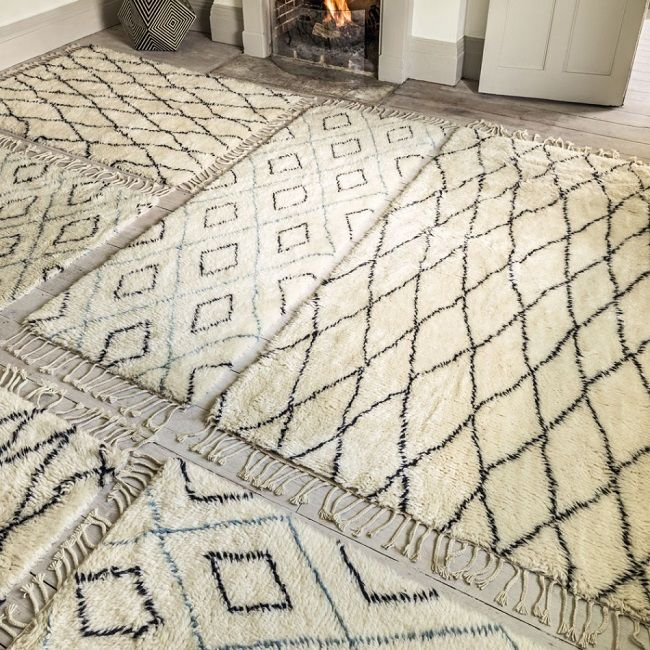 High Quality Hygge Living Room Ideas, Berber Rugs