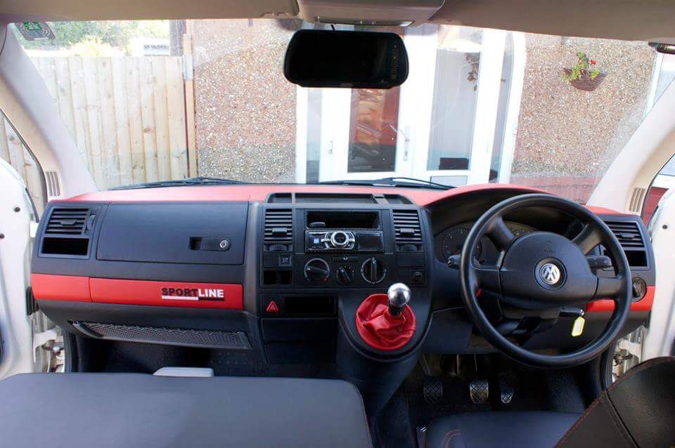 Custom Vw T5 Dash www dubz4hire com | VW T/3/4/5/6 | Vw t5