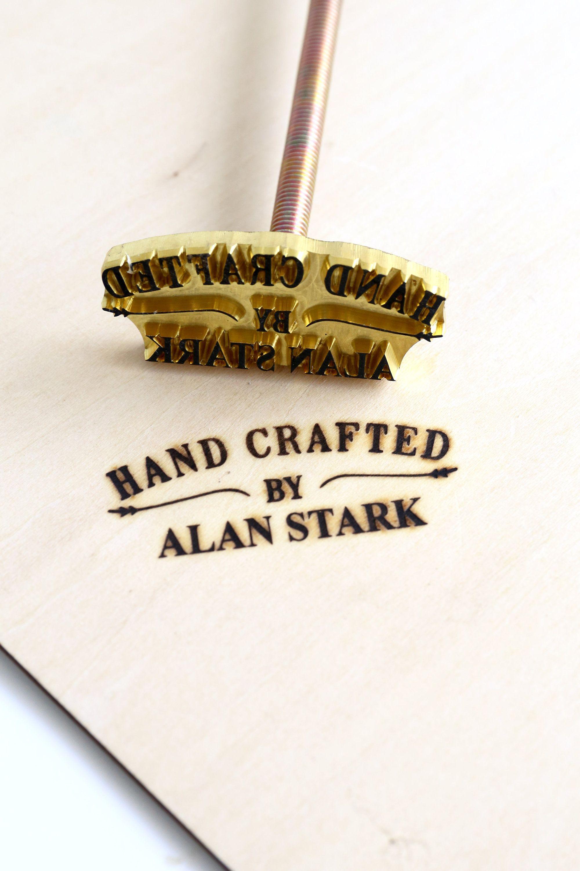 Custom wood branding iron for woodworking branding iron