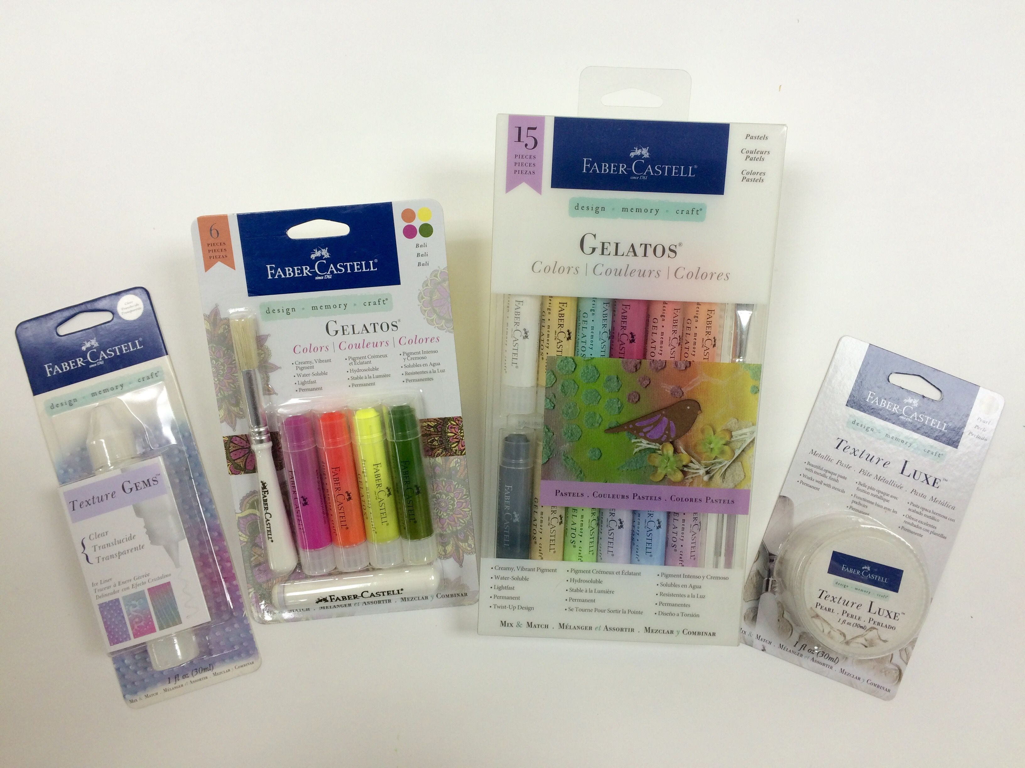 Friday Giveaway from Faber-Castell Design Memory Craft®   Craft Test Dummies