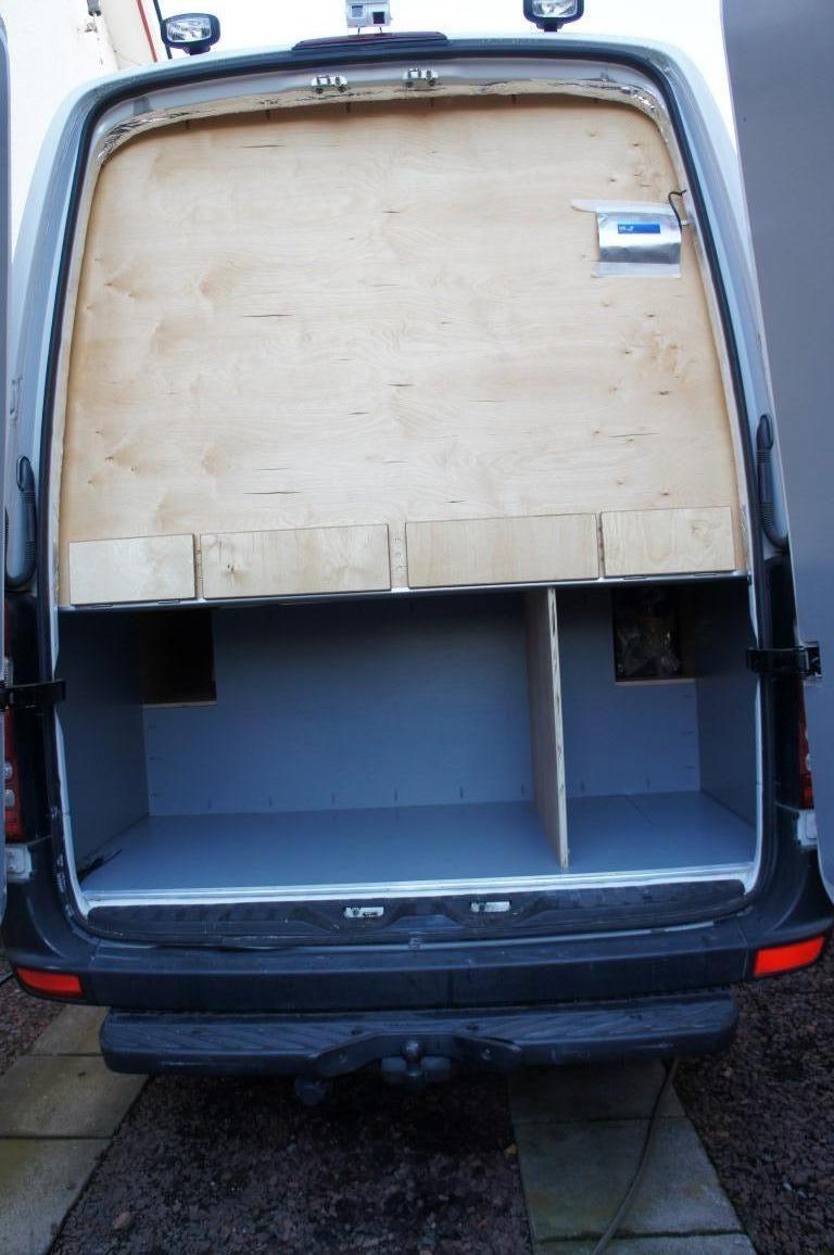 Mercedes Sprinter LWB Campervan Conversion Garage