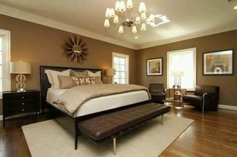 Schlafzimmer, Braun Schlafzimmermöbel, Braunes Schlafzimmer,  Hauptschlafzimmer, Schlafzimmerdesign, Schlafzimmer Ideen, Warmherzig,  Ornamentik, ...