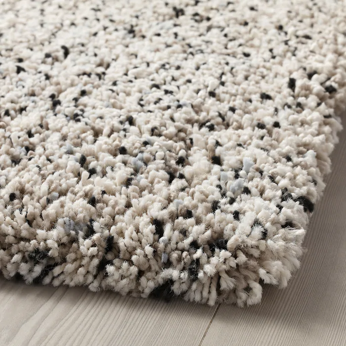 Vindum Tapis A Poils Longs Blanc 2 7 X4 11 80x150 Cm En 2020 Tapis Poil Long Tapis Ikea