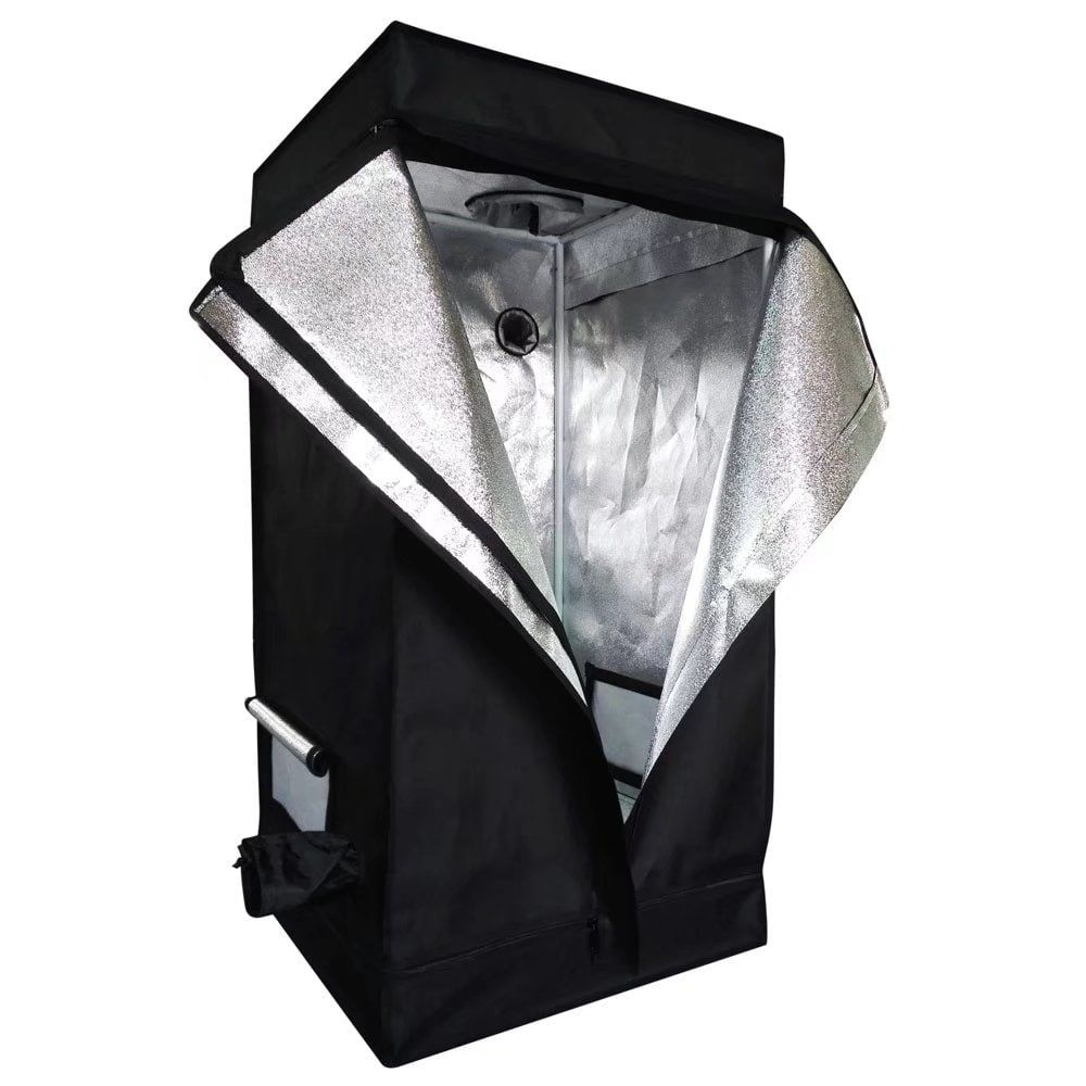 60 x 60 x 120 Home Use Dismountable Hydroponic Plant Grow Tent Silver aluminum ##13026189 Gardening  sc 1 st  Pinterest & 60 x 60 x 120 Home Use Dismountable Hydroponic Plant Grow Tent ...