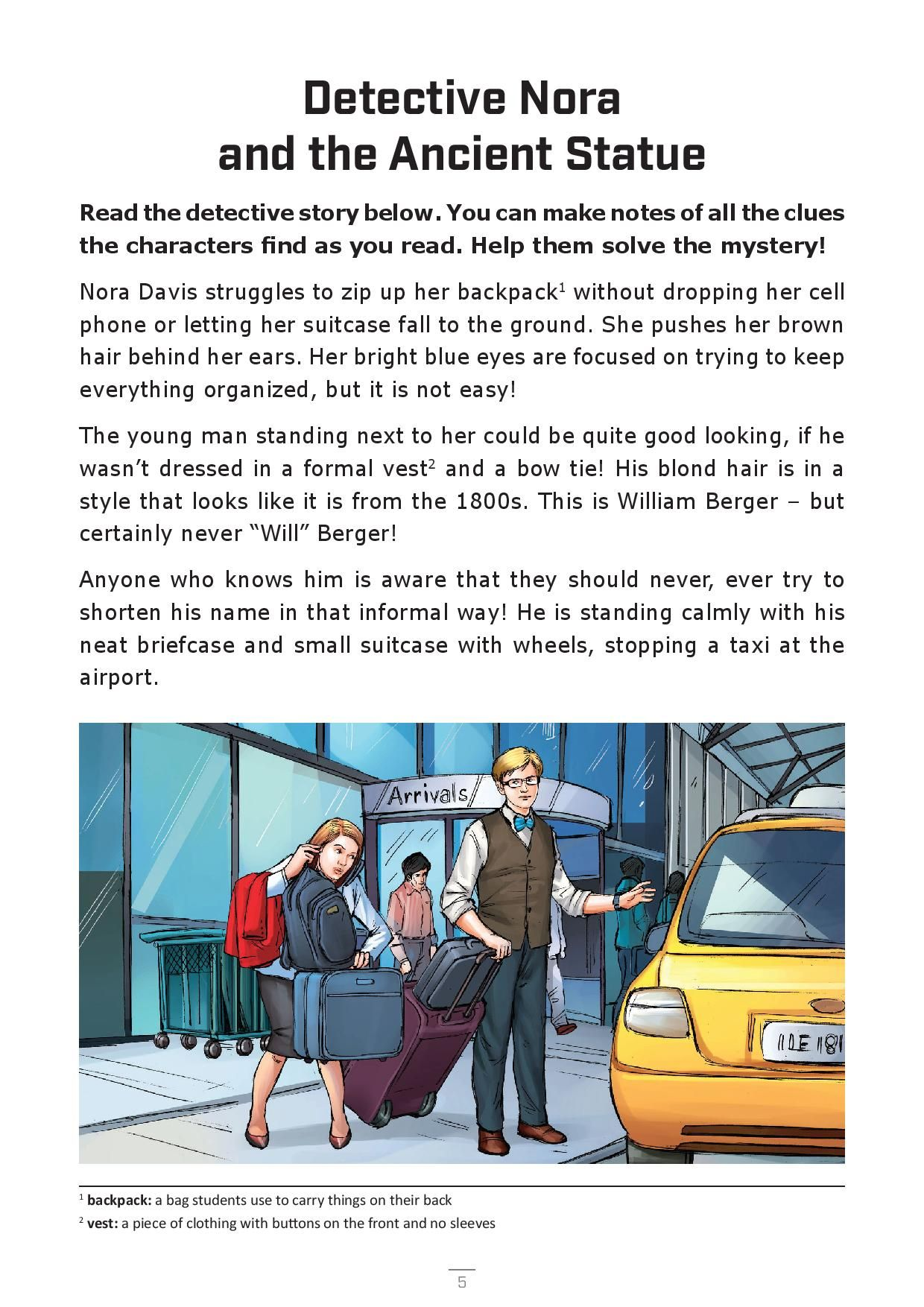 Free Booklet For English Students And Teachers This Story Plus Vocabulary And Exercises Is Free T Teaching Reading Comprehension Exercise English Grammar Book [ 1754 x 1240 Pixel ]